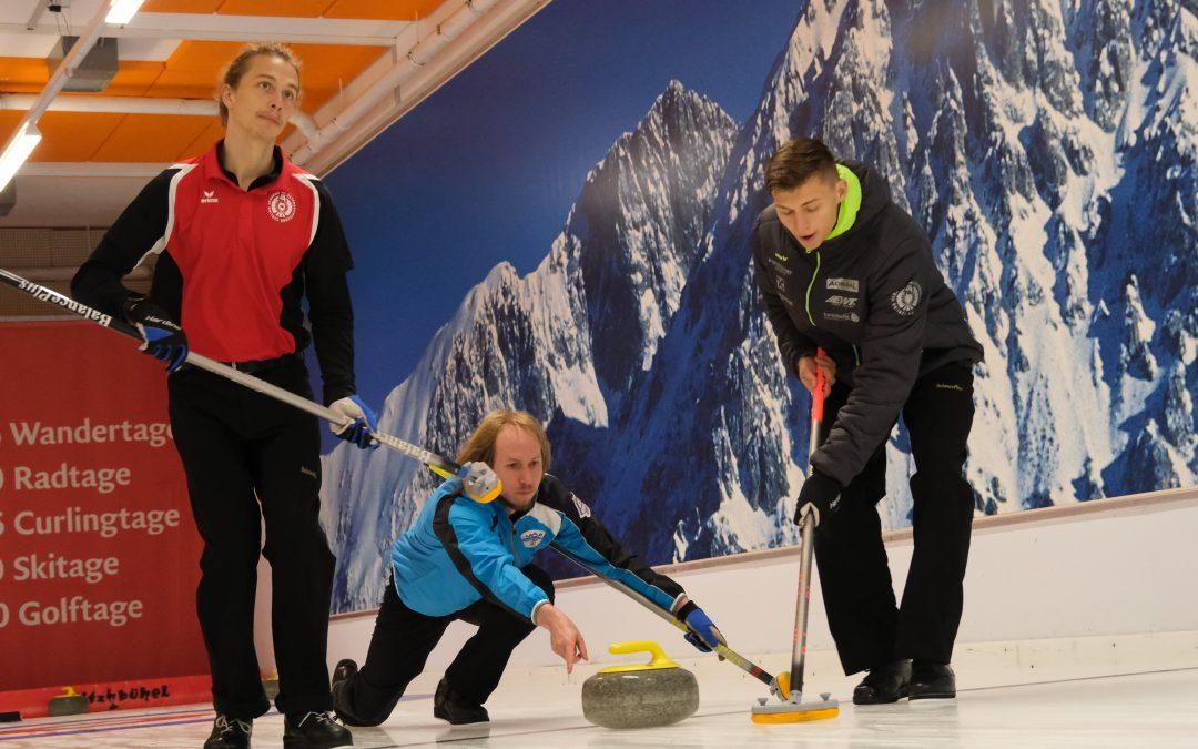 AUT Curling Nationalkader startet in die Saison 2021/22